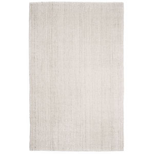 Andes Ivory Jute Rectangular: 4 Ft. x 6 Ft. Area Rug