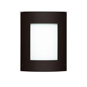 Moto Square Black One-Light ADA Outdoor Sconce
