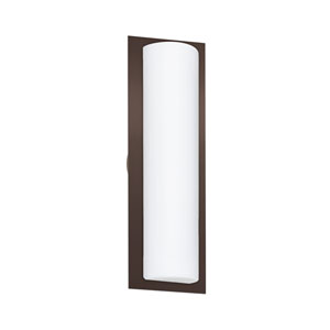 Barclay Bronze Two-Light Wall Sconce With Opal Matte Glass