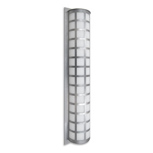 Scala Silver Three-Light LED Outdoor Sconce