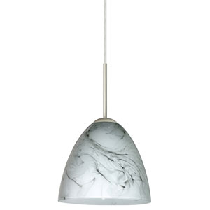 Vila Marble Grigio Satin Nickel Mini Pendant