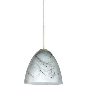 Vila Marble Grigio Satin Nickel Mini Pendant