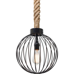 Sultana One-Light Globe Mini Pendant with Globe Shade