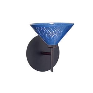 Kona Blue Starpoint Bronze Sconce