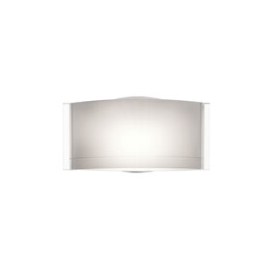 Jodi Chrome One-Light Bath Fixture with Opal Glossy Glass