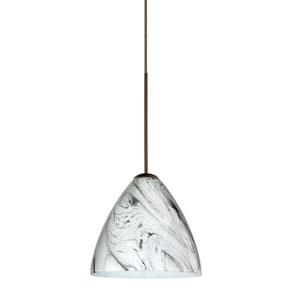 Mia Marble Grigio Bronze Mini Pendant