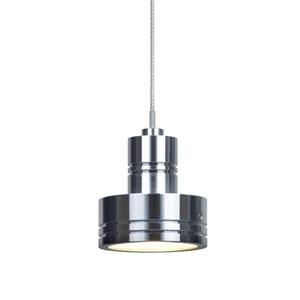 Sputnik Satin Nickel One-Light LED Fixed-Connect Mini Pendant