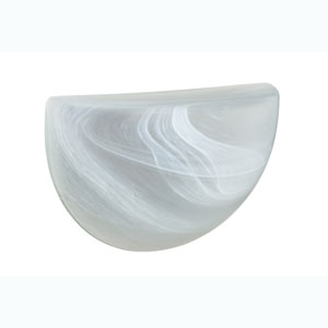 Marble Glass Sconce