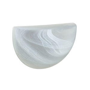 Quatro 10 Marble One-Light LED Outdoor Wall Sconce