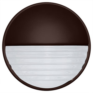 Costaluz 3019 Series Aluminum One-Light Incandescent Wall Sconce with Bronze Glass