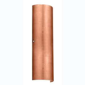 Torre Copper Foil Satin Nickel Two-Light Sconce