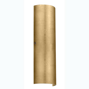 Torre Gold Foil Bronze Two-Light Sconce