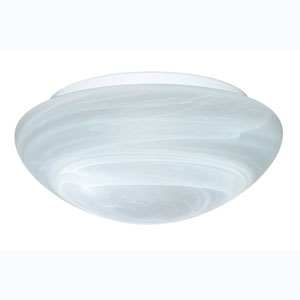 Series 9111 Marble Flush Mount Ceiling Fixture