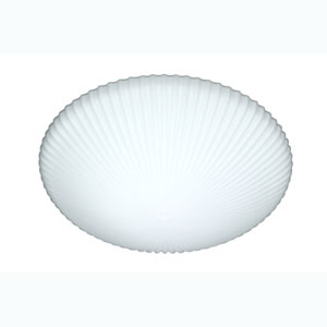 Series 945 Large Opal Flush Ceiling Light