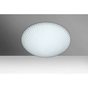 Katie 12 Opal Matte Two-Light LED Flush Mount