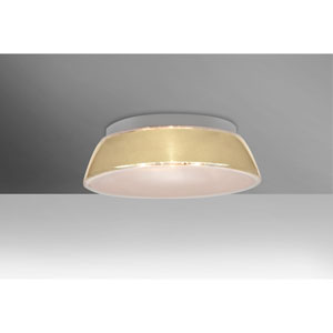 Pica 14 Creme Sand One-Light LED Flush Mount