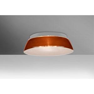 Pica 14 Tan Sand One-Light LED Flush Mount