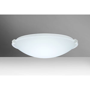 Trio 16 White Two-Light LED Flush Mount