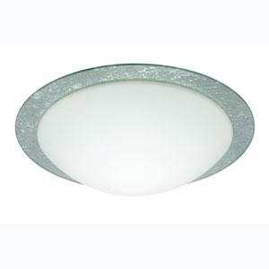 Series 977 Silver Foil Ring Flush Mount