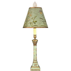 24-Inch Belle Aqua Table Lamp
