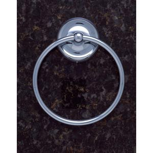 Plain Chrome Towel Ring