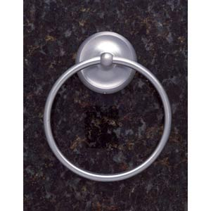 Plain Pewter Towel Ring