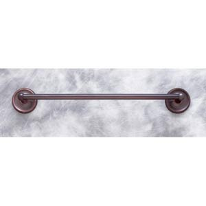Plain Old World Bronze 30-Inch Towel Bar