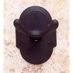 Chateau Oil Rubbed Bronze Double Robe Hook