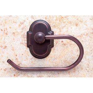 Chateau Old World Bronze Euro Toilet Paper Holder