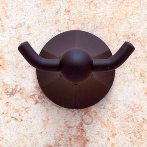 Prism Oil Rubbed Bronze Double Robe Hook