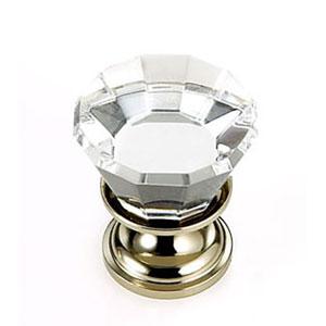Pure Elegance Polished Nickel Finish 7/8-Inch Flat Top
