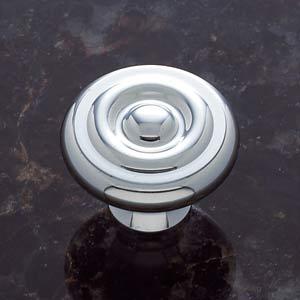 Chrome 1 1/2-Inch Georgian Knob
