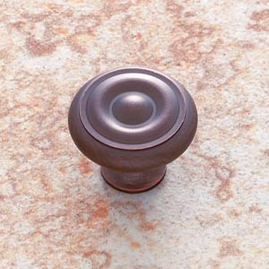 Old World Bronze 1 1/4-Inch Georgian Knob