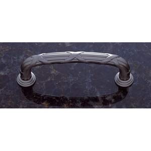 Pewter 3 3/4-Inch Pull