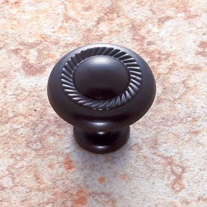 Oil Rubbed Bronze Rope Knob
