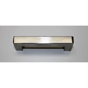 Stainless Steel Squared Bar Pull- 4 inches