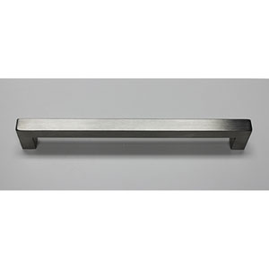 Stainless Steel Squared Bar Pull- 9 inches