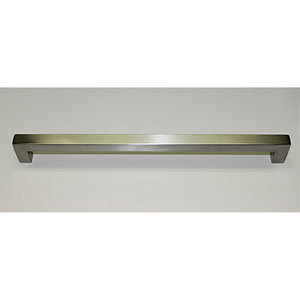 Stainless Steel Squared Bar Pull- 12.5 inches