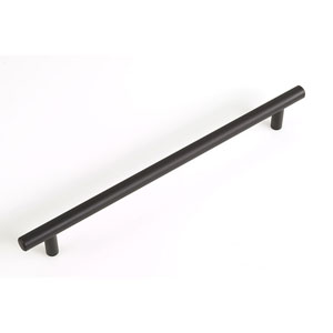 Palermo Oil Rubbed Bronze Finish Bar Pull - Length 10.75