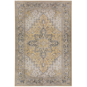 Amanti Gold Rectangular: 3 Ft. 3 In. x 5 Ft. 3 In. Rug