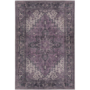 Amanti Plum Rectangular: 7 Ft. 10 In. x 9 Ft. 10 In. Rug