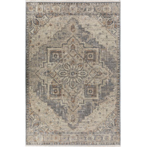 Baku Pewter Rectangular: 9 Ft. 4 In. x 13 Ft. 3 In. Rug