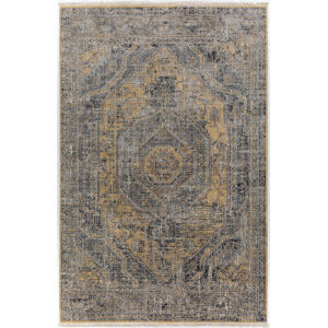 Baku Goldenrod Rectangular: 9 Ft. 4 In. x 13 Ft. 3 In. Rug