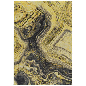Formations Citrine Rectangular: 5 Ft. 3 In. x 7 Ft. 7 In. Rug