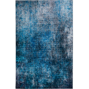Nebula Cobalt Rectangular: 1 Ft. 8 In. x 2 Ft. 6 In. Rug