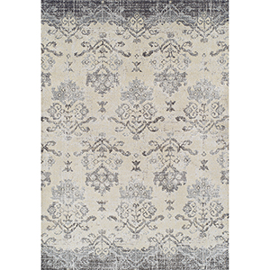 Antigua Pewter Rectangular: 3 Ft. 3 In. x 5 Ft. 3 In. Rug