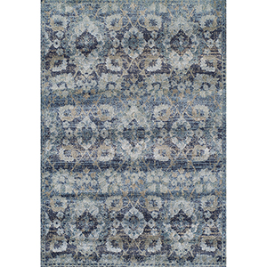Antigua Navy Rectangular: 3 Ft. 3 In. x 5 Ft. 3 In. Rug