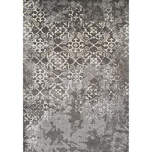 Antigua Grey Rectangular: 3 Ft. 3 In. x 5 Ft. 3 In. Rug