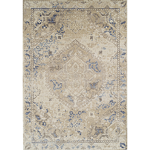 Antigua Linen Rectangular: 9 Ft. 6 In. x 13 Ft. 2 In. Rug