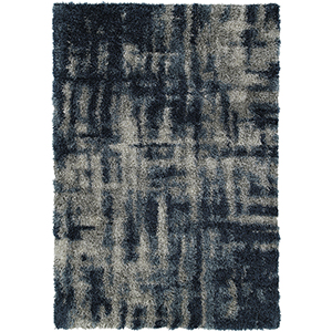 Arturro Navy Rectangular: 3 Ft. 3 In. x 5 Ft. 1 In. Rug